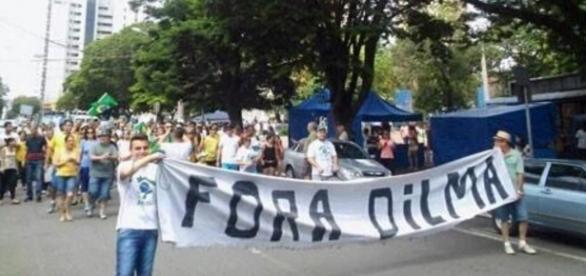 Vem Pra Rua pede o impeachment de Dilma