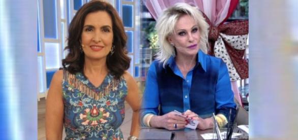 Fátima Bernardes apoia Ana Maria Braga