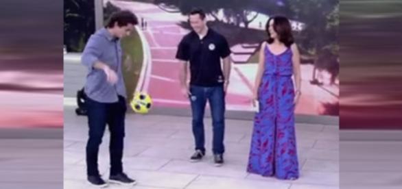 Felipe Andreoli acerta bolada em Fátima