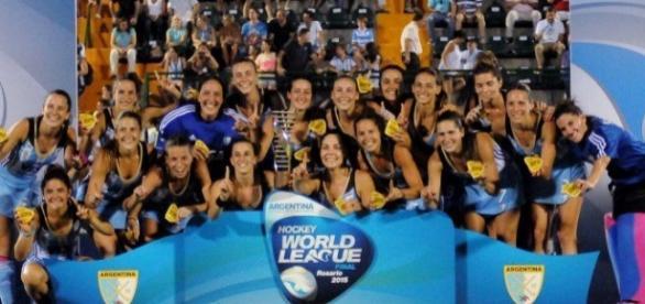 """Las """"Leonas"""" ganan por primera vez la Liga Mundial"""