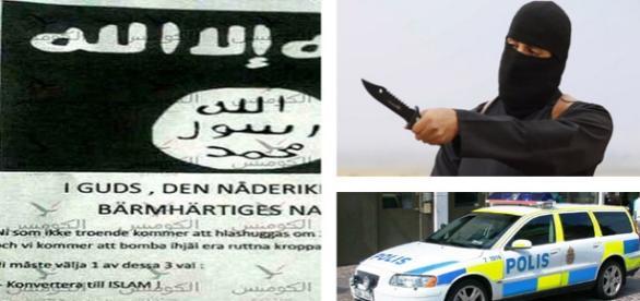Ameninţare ISIS adresată în suedeză cetăţenilor