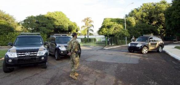 PF em Brasília-Marcelo Camargo/Agência Brasil