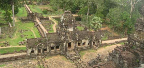 Complexo de templos de Angkor.