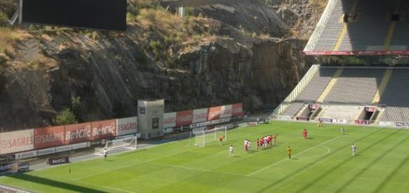 Estádio de Braga recebe o SC Braga - Sporting CP.