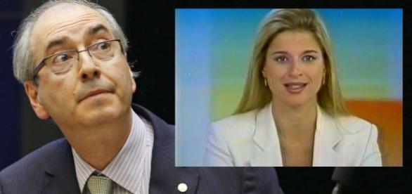 Ex-âncora do 'Jornal Nacional' e filha de Cunha