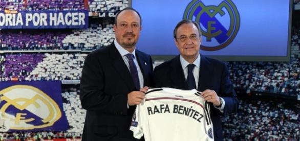 Rafael Benitez en su presentación