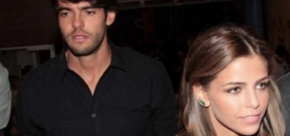 Kaká e nova namorada protagonizam barraco