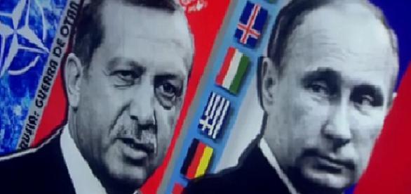 Putin y Erdogan Guerra de los Gasoductos