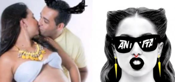 Vídeo da paródia e de Anitta em clipe (Youtube)
