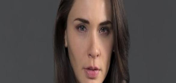 """A atriz em """"Yo No Creo en Los Hombres"""""""