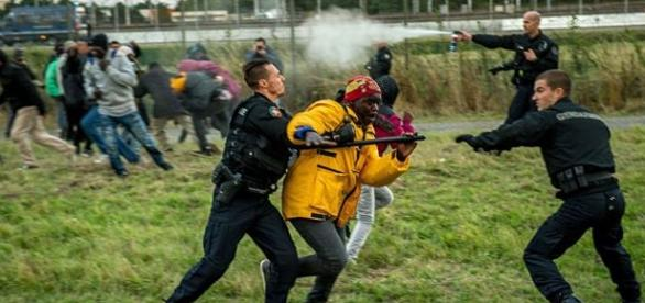 Regularna wojna w Calais trwa!