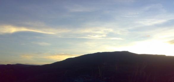 Ver o céu no final de tarde é lindo