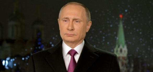 Vladimir Putin presidente da Russia