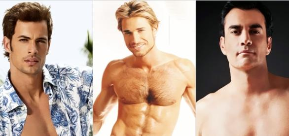 William Levy, Sebastián Rulli e David Zepeda.