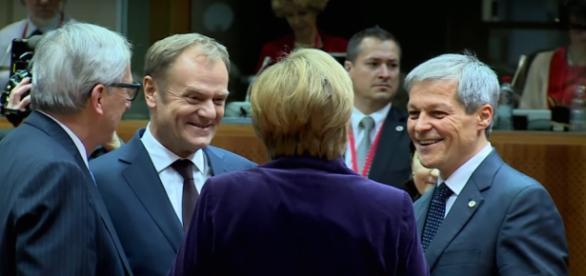 Primire extrem de amabilă făcută lui Cioloș