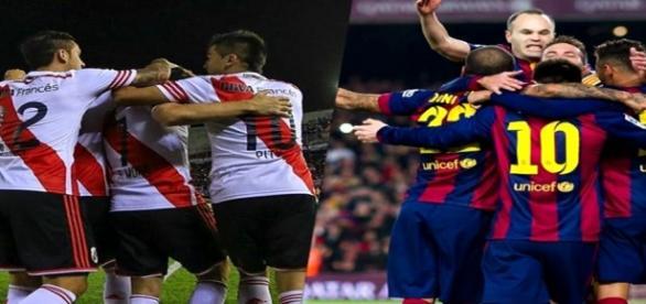 River Plate e Barcelona se enfrentam no Mundial