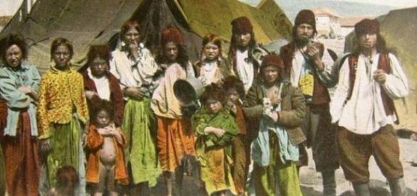 Țiganii au origini indiene si au ajuns aici sclavi