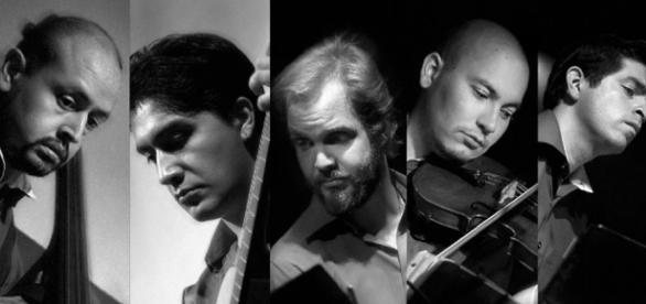 Fotografía del archivo de Quinteto Entretango.