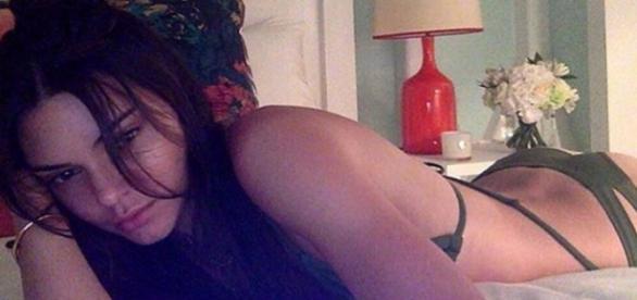 Kylies Schwester Kendall Jenner.