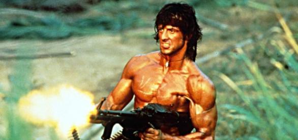 Sylvester Stallone está de volta com Rambo