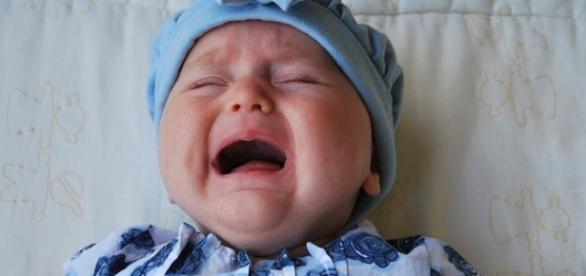 Técnica simples faz bebês pararem de chorar.