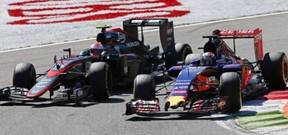 Toro Rosso vs McLaren : un combat inégal.