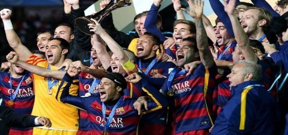 Barcelona tri campeão mundial da FIFA