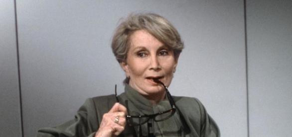 Madame Claude en una entrevista televisiva.