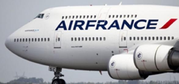 O avião pertencia à companhia áerea Air France.