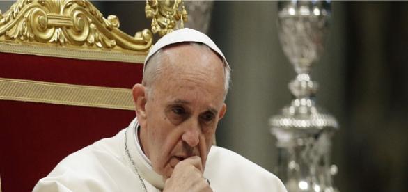 O Papa saudou sinais de paz para a Síria.