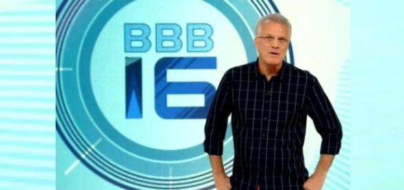 Pedro Bial comanda o Big Brother Brasil 16