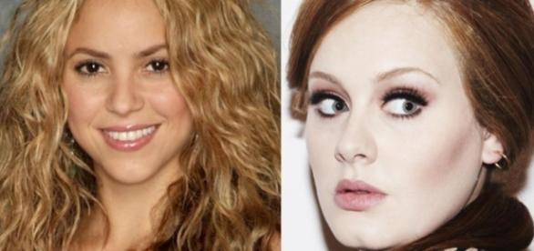 Shakira chama Adele de Plagiadora