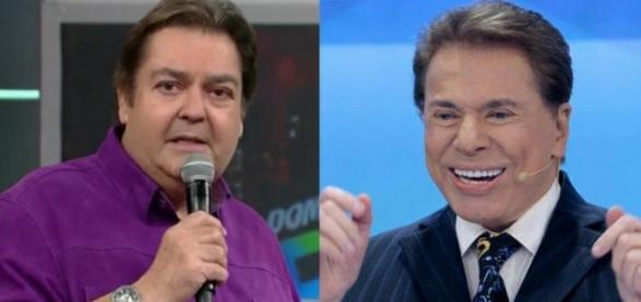 Silvio Santos e Faustão - Foto/Divulgação: Google