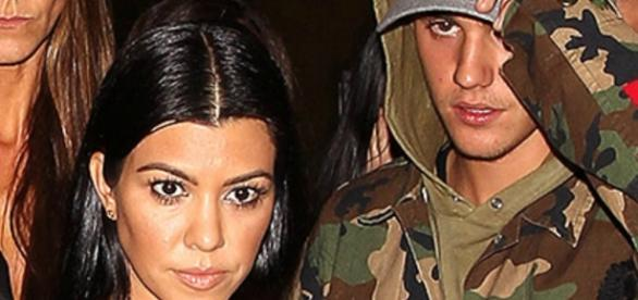 Kourtney Kardashian e Justin Bieber