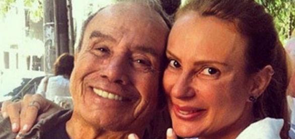 Stênio Garcia e esposa (Imagem Google)