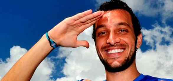 Dracena, o novo zagueiro do Palmeiras para 2016.