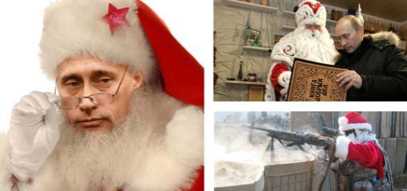 Noua găselniţă a lui Putin, un Moş Crăciun înarmat