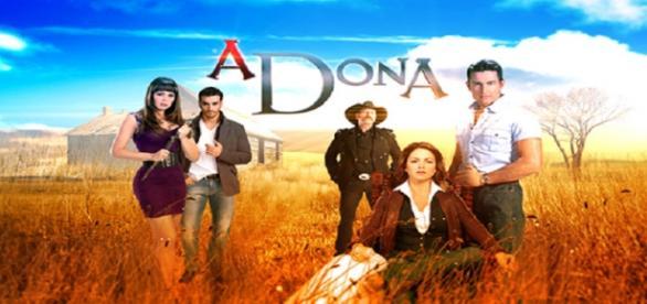 A Dona, novela do SBT e da Televisa.