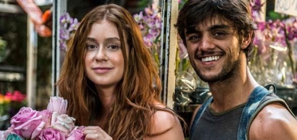 Cena da novela da Globo 'Totalmente Demais'