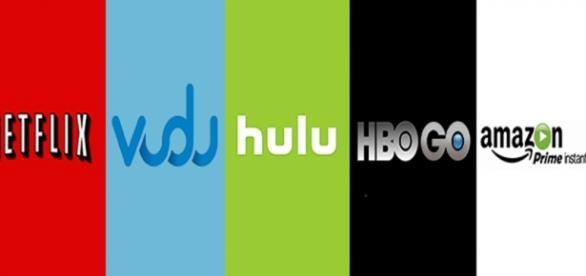 Empresas que oferecem serviços de streaming.