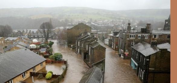 Marea Britanie se află sub nemiloasele ape