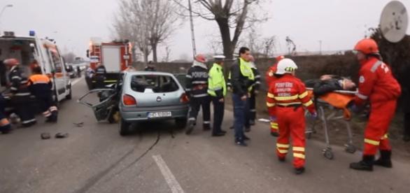 Cinci persoane rănite în Hunedoara