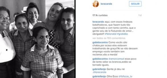 Regina Casé causa polêmica - Imagem: Instagram