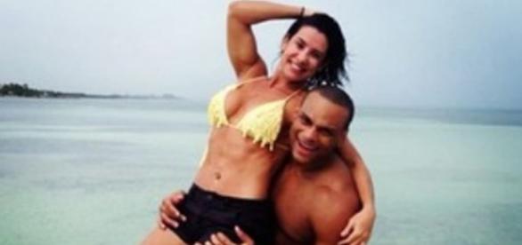 Sheila Carvalho e Tony Salles gravam vídeo pornô