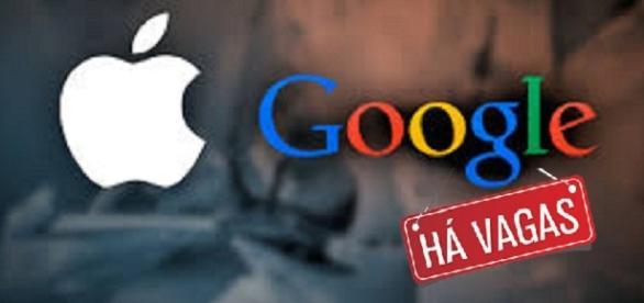 Vagas para fluentes em português na Apple e Google