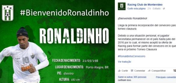 Bem-vindo à Ronaldinho era brincadeira
