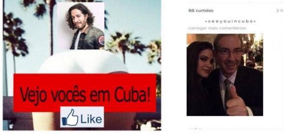Jean Wyllys sai em defesa de Cunha no Facebook