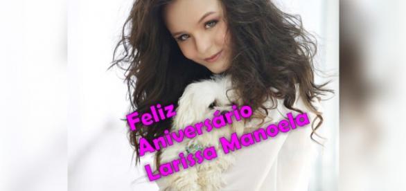 Larissa Manoela comemora seu aniversário