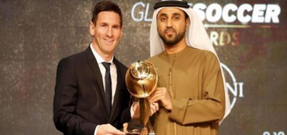Messi é eleito o melhor jogador de 2015