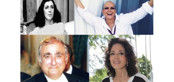 Celebridades que morreram em 2015. FOTOS: Globo.